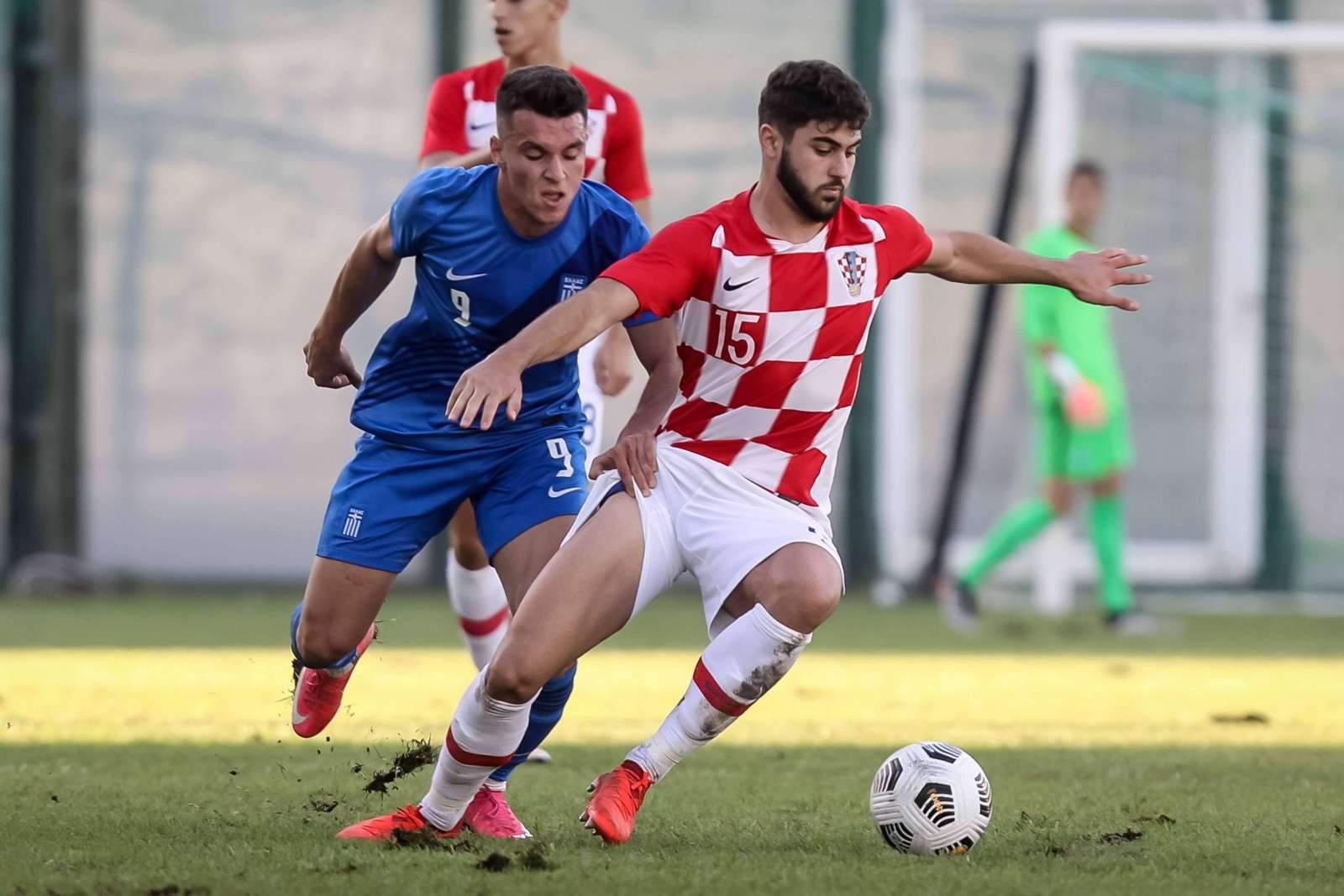 В составе сборной Хорватии произошла замена перед началом матча с Россией