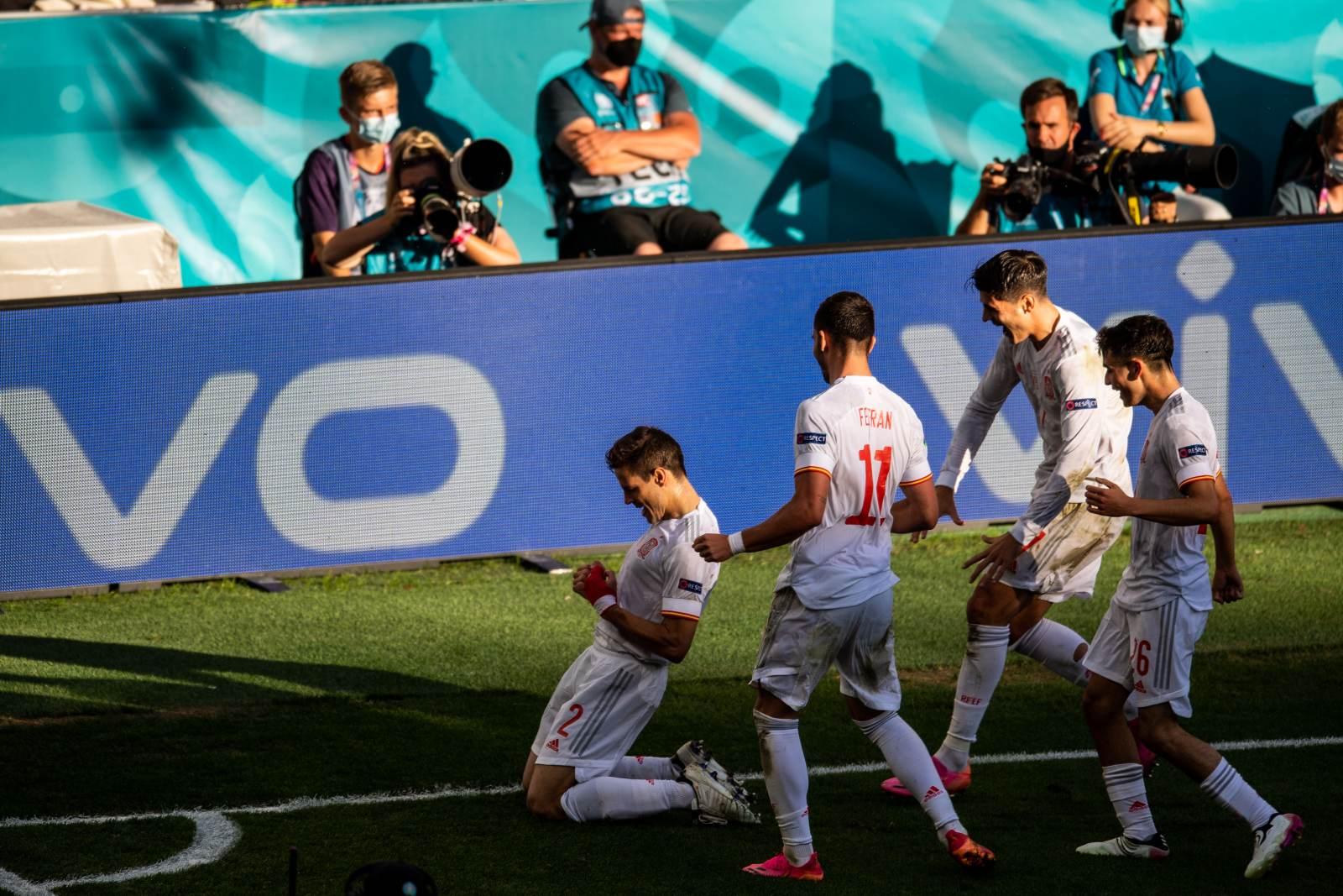 Испания показала Франции, как нужно бить пенальти, выбив Швейцарию в четвертьфинале Евро-2020