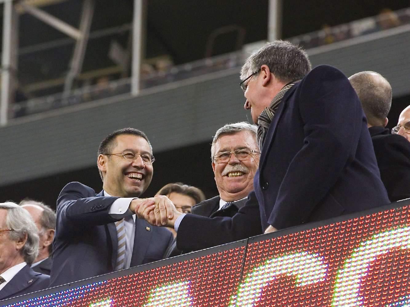 «Барселона» подтвердила отставку Бартомеу