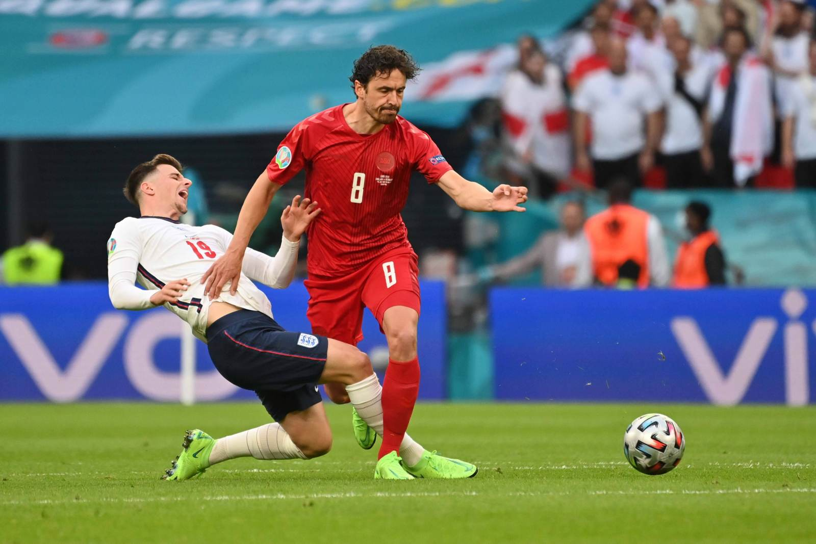 Назван самый грубый футболист Евро-2020