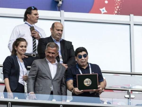 Марадона недоволен переносом финала Кубка Либертадорес в Мадрид