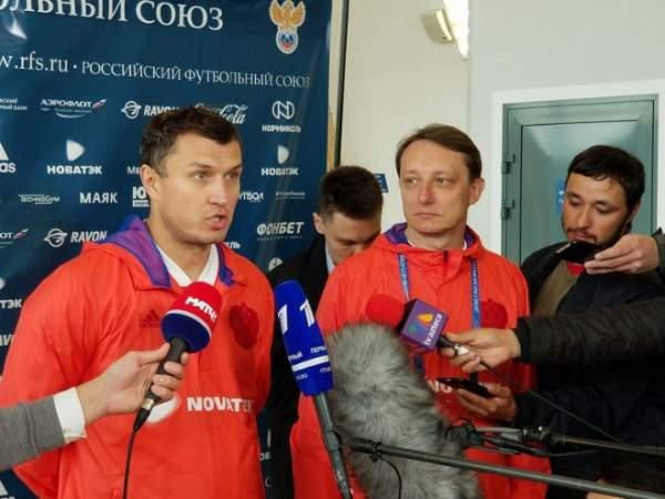 Врач сборной России рассказал, когда Головин и Миранчук вернутся на поле