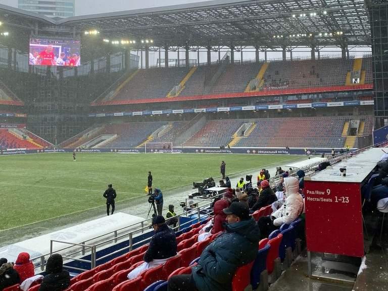 Футбол под градусником: Как прошёл единственный матч уик-энда в Москве