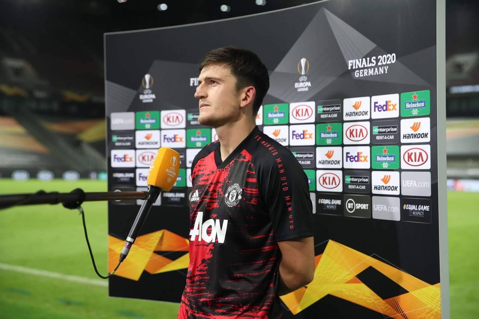 Магуайр: «Мы знаем, насколько силён «Милан», матчи будут очень сложными»