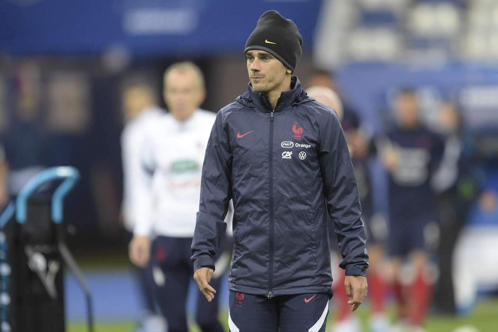 Гризманн останется в «Барселоне» до конца сезона