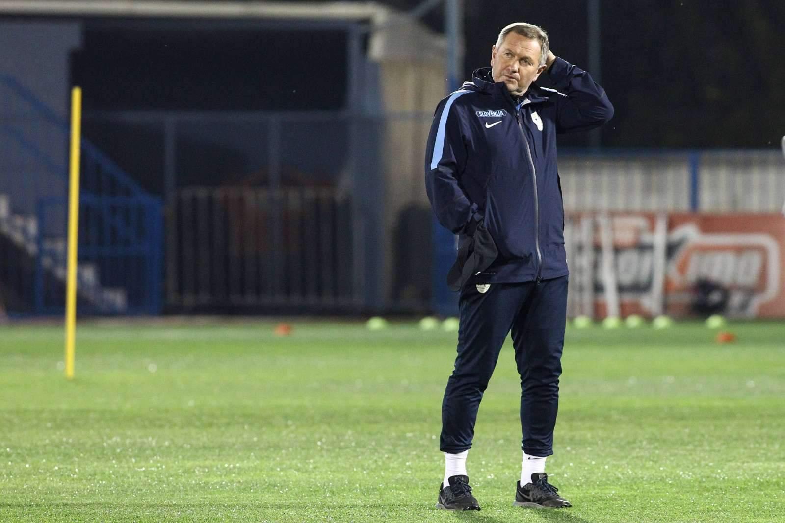 Главный тренер сборной Словении Кек вспомнил о стыковых матчах с командой России в 2009 году