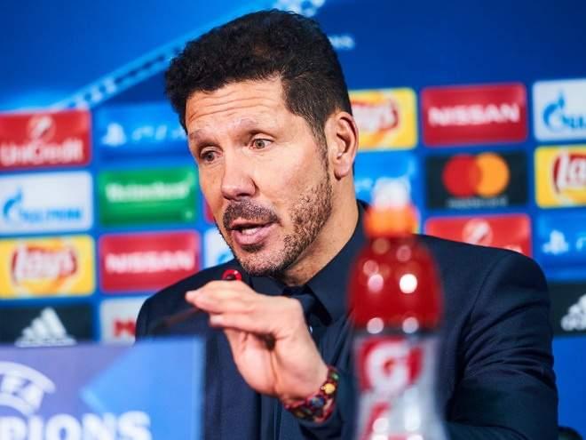 """Симеоне: """"Надеюсь, что """"Атлетико"""" сможет сыграть в финале Лиги чемпионов у себя дома"""""""