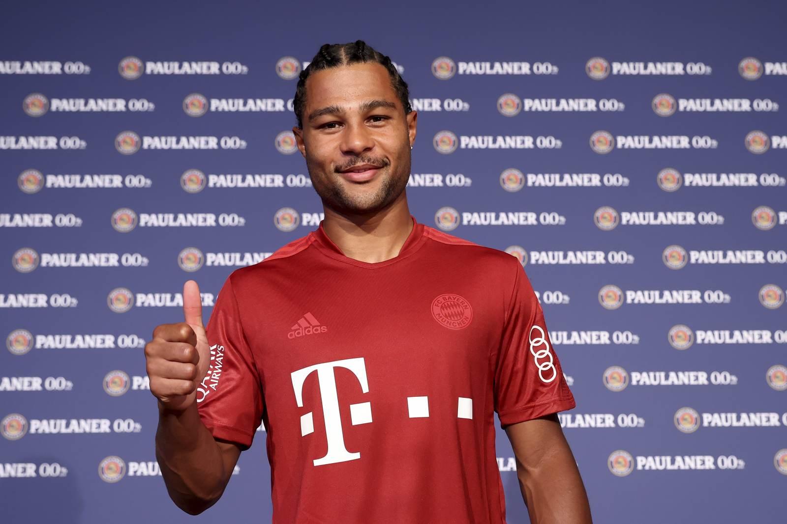 «Бавария» предложит новый контракт Гнабри