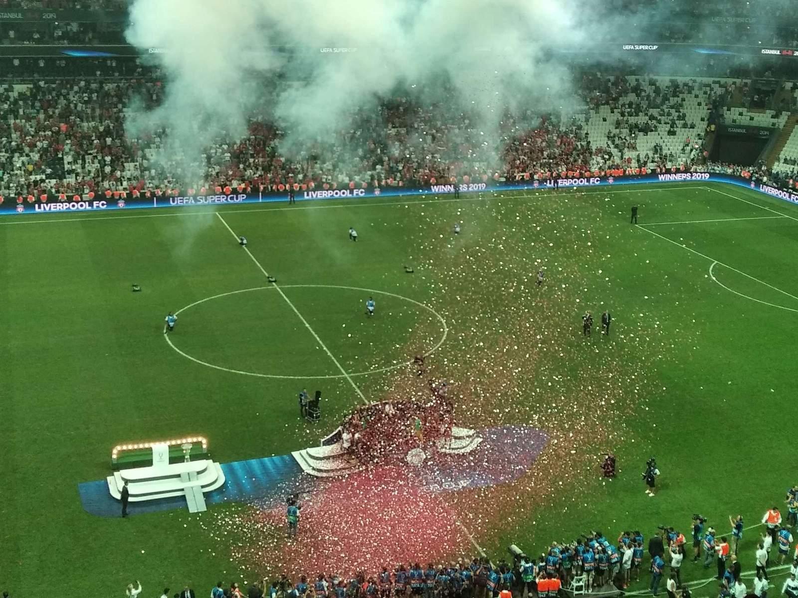 Матч за Суперкубок УЕФА перенесут в Стамбул