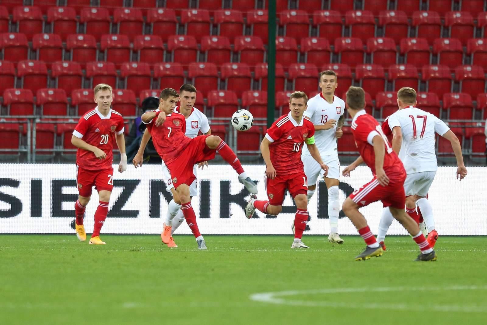 Известен состав молодёжной сборной России на матч с Литвой