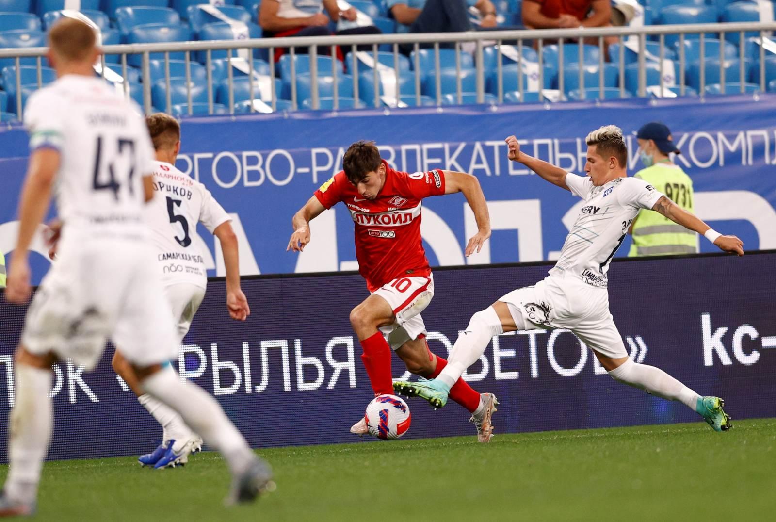 Зиньковский: «Локомотив» и «Спартак» не доставляли столько трудностей, как «Зенит»