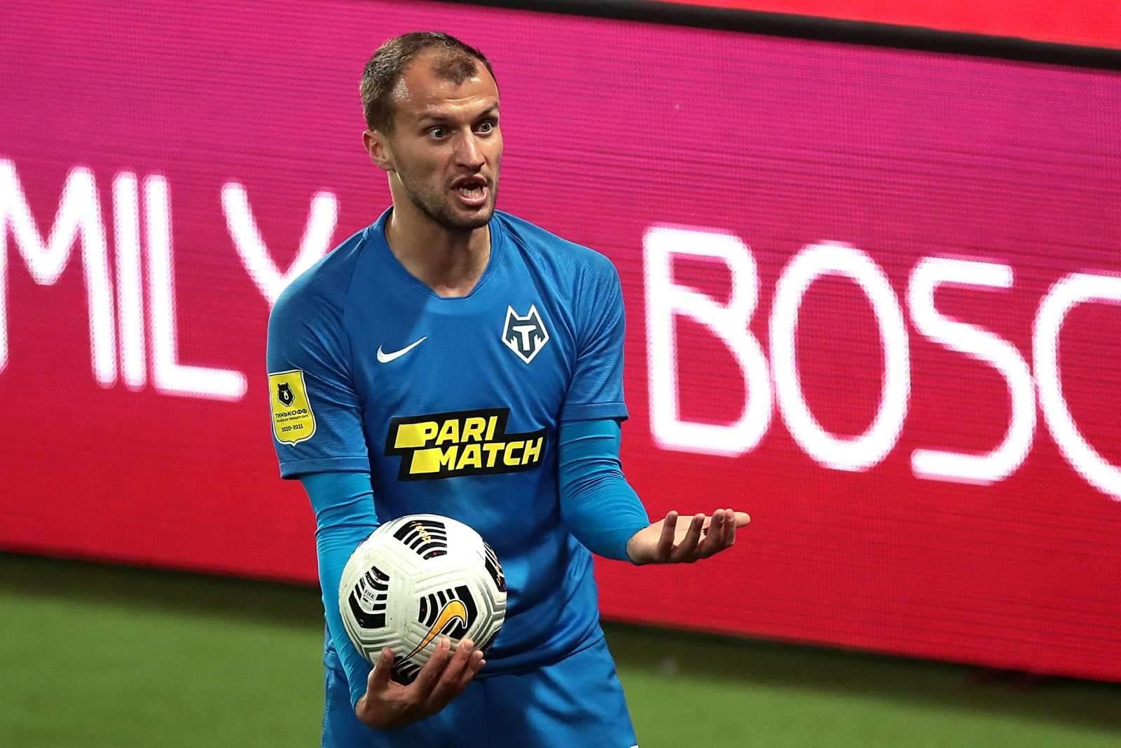 Шляков перешёл из «Тамбова» в румынский клуб
