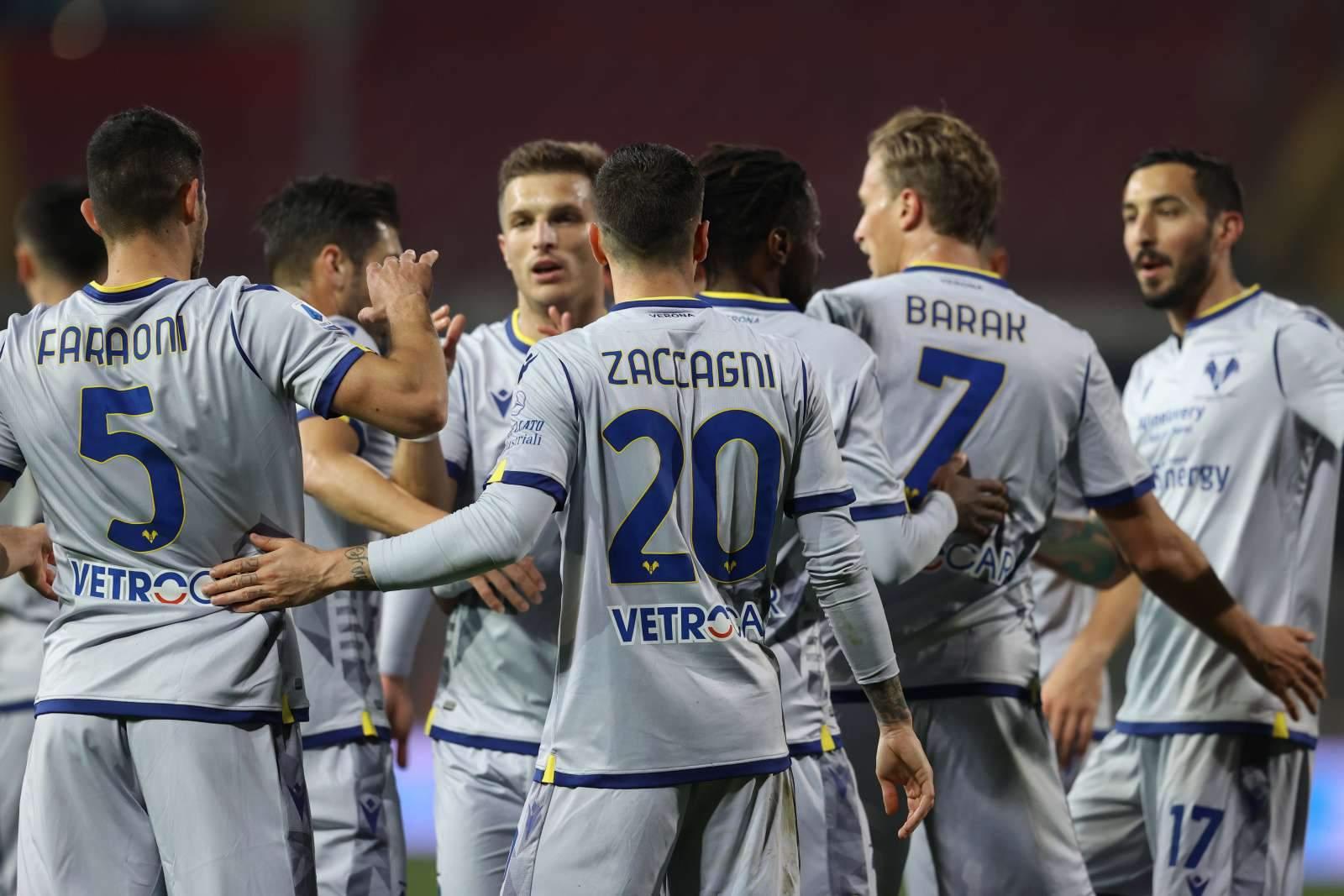 «Верона» на последних минутах упустила победу в матче со «Специей»