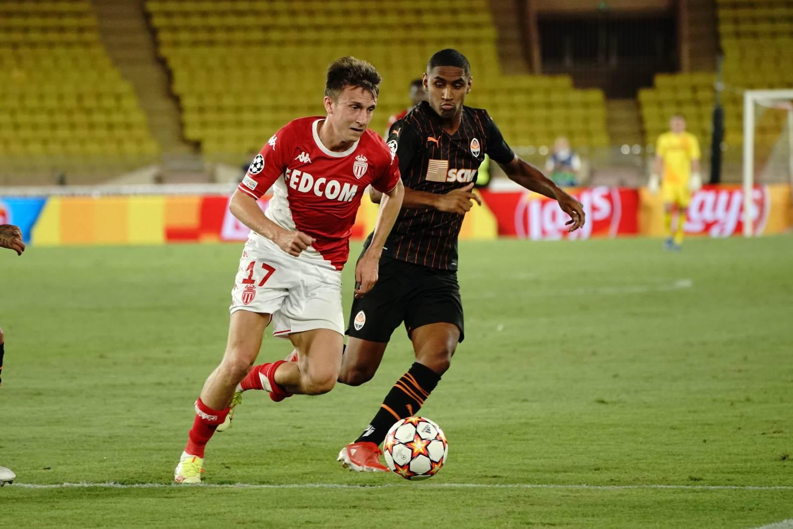 Головин был лучшим в матче с «Шахтёром»  - фанаты «Монако»