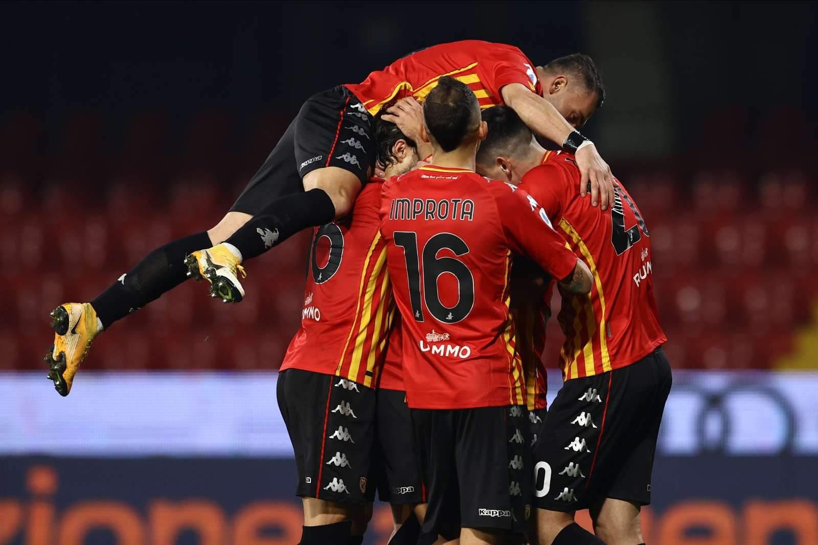 «Беневенто» победил на Сардинии в первом матче 16-го тура