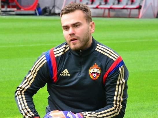 Акинфеев достиг третьего места по количеству матчей за ЦСКА