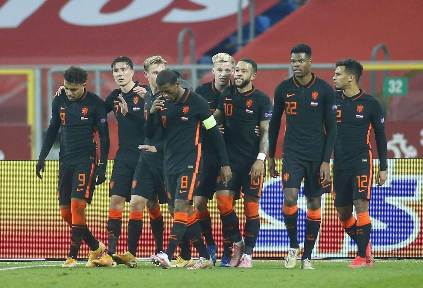Северная Македония - Голландия - 0:3 (закончен)