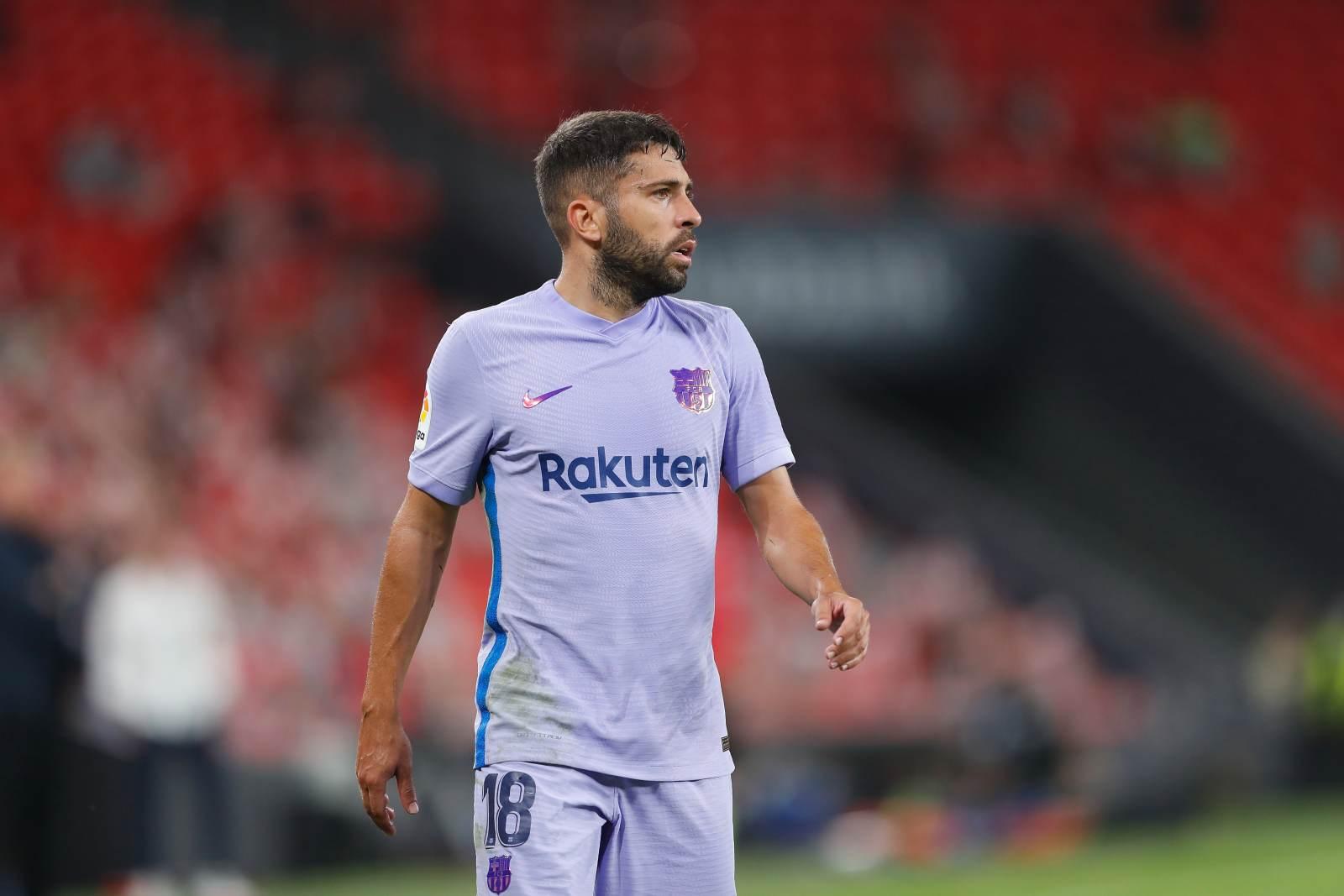 Альба вернулся в строй перед игрой с «Атлетико»