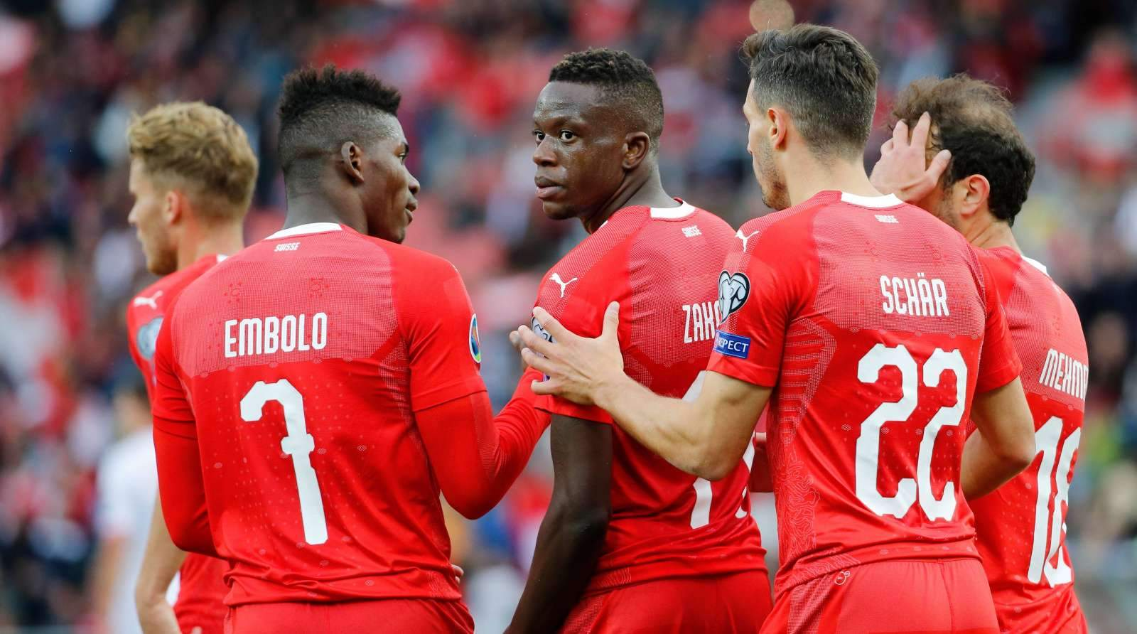 Сборная Швейцарии добыла волевую победу в матче с командой США