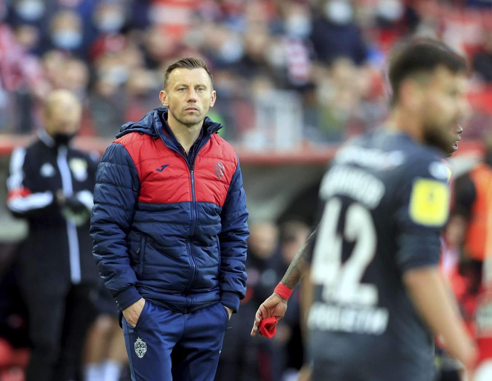 Олич: «Очень доволен тем, как сыграли после пропущенного гола и до конца игры»
