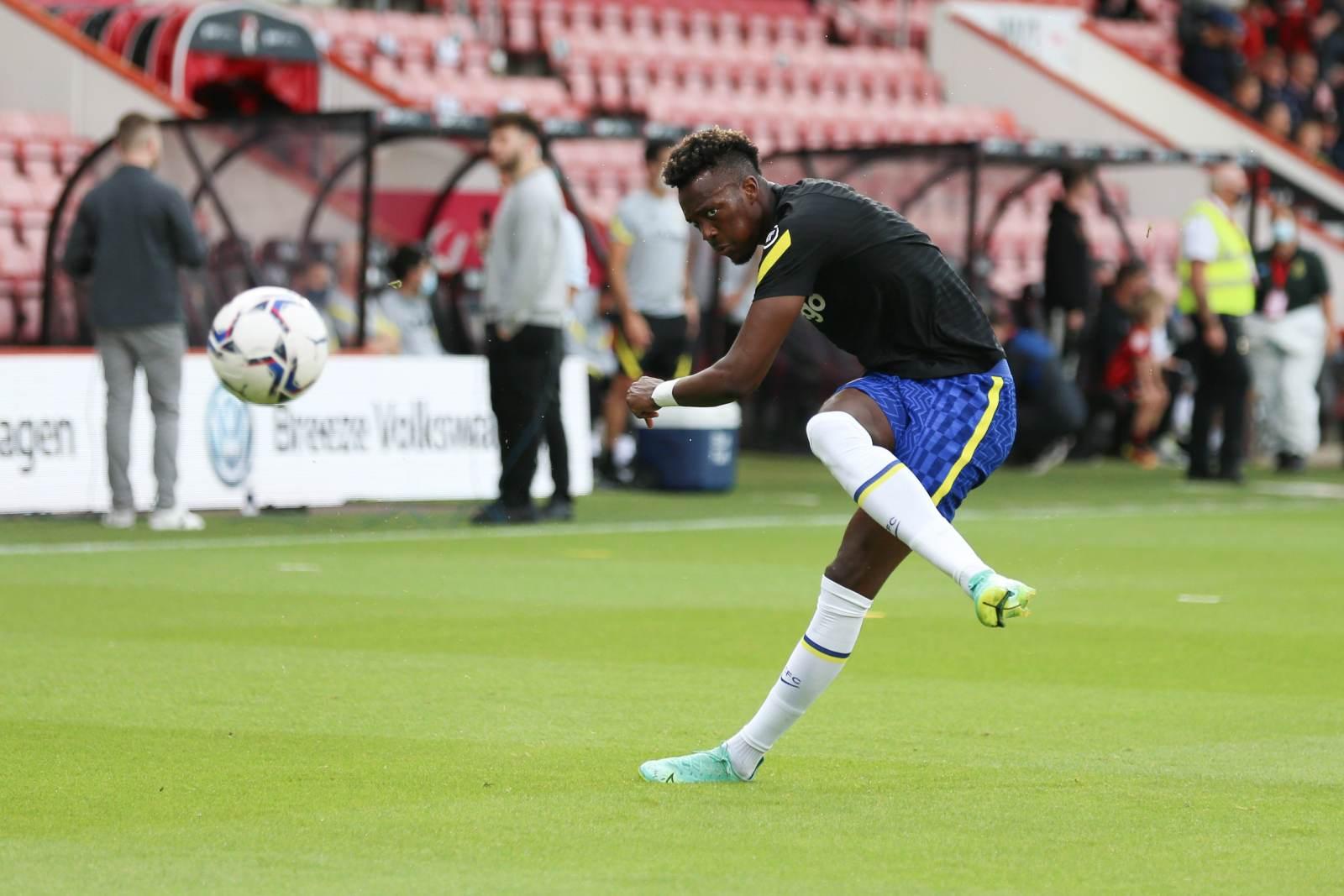Абрахам тренировался в общей группе перед матчем с «Ювентусом»