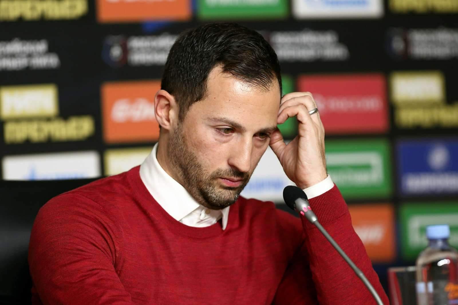 Тедеско дисквалифицирован на 3 матча, Бородин отделался штрафом