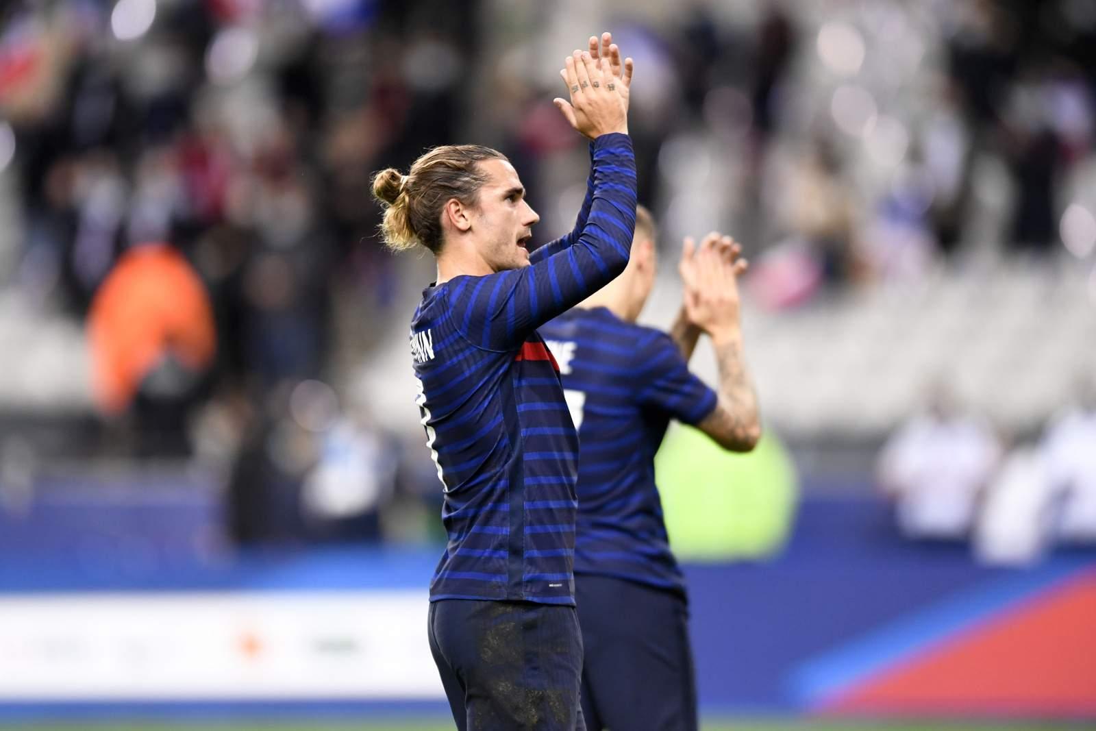 Гризманн обогнал Трезеге по голам за сборную Франции