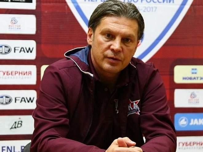 Поддубский подал в отставку с поста главного тренера «СКА-Хабаровска»