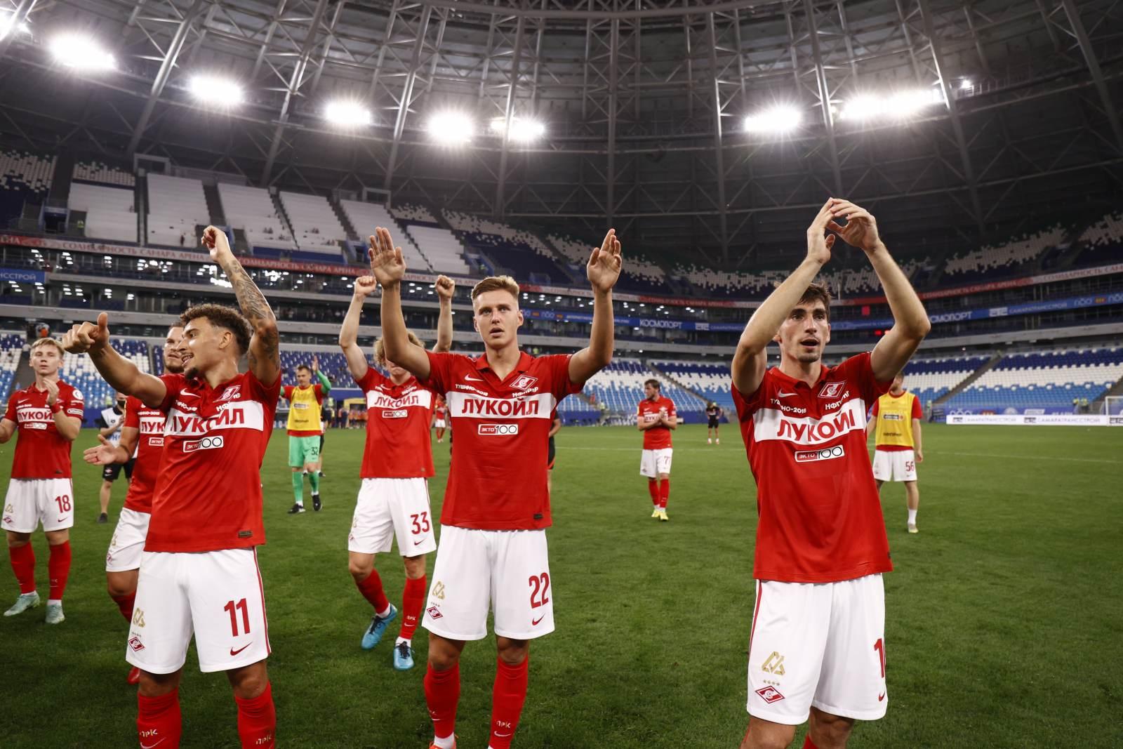 «Спартак» попытается добиться увеличения заполняемости стадиона на игру с «Легией»