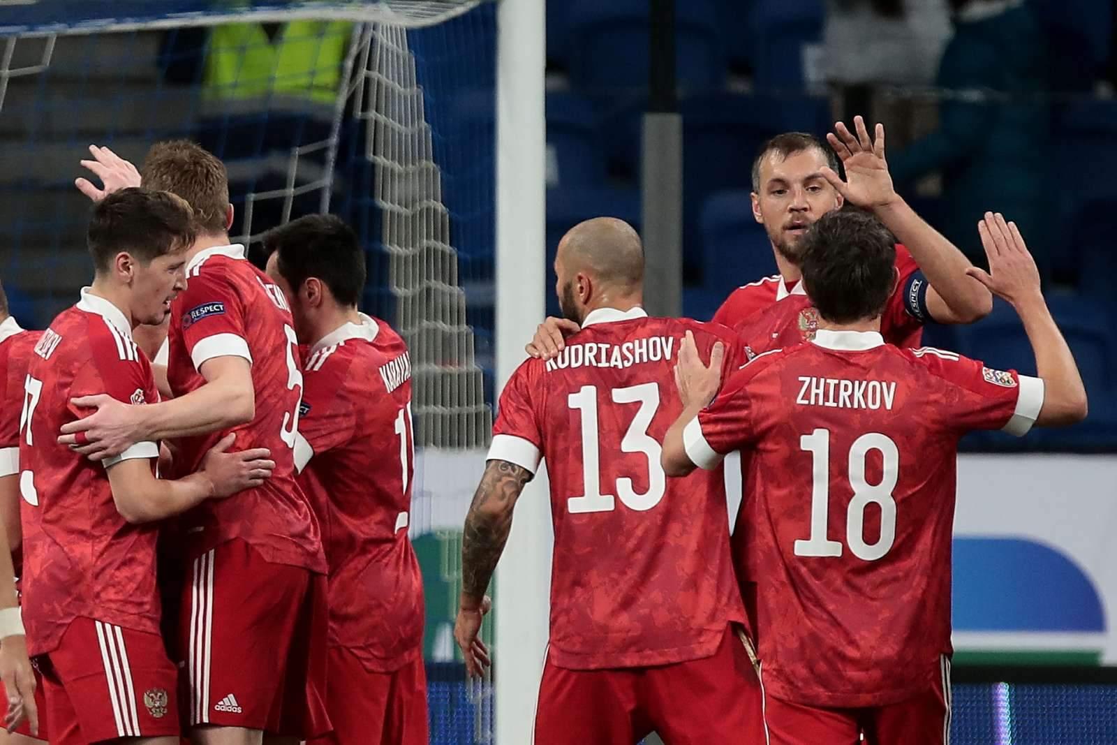 Названы соперники сборной России по товарищеским матчам перед Евро-2020