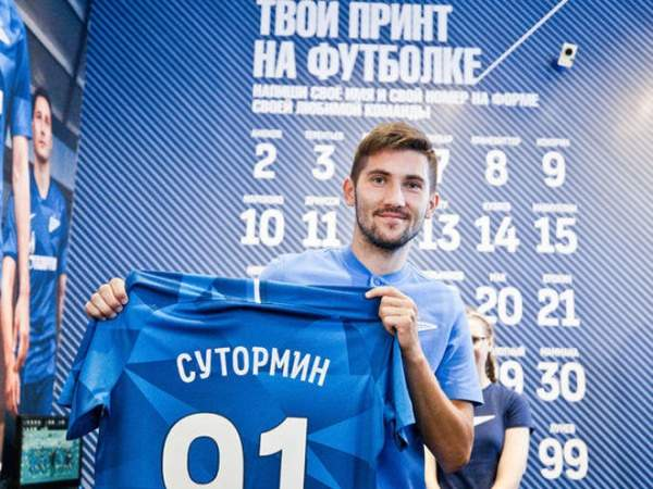 Конов: «Зенит» оплатил заСутормина 50 тыс. руб.