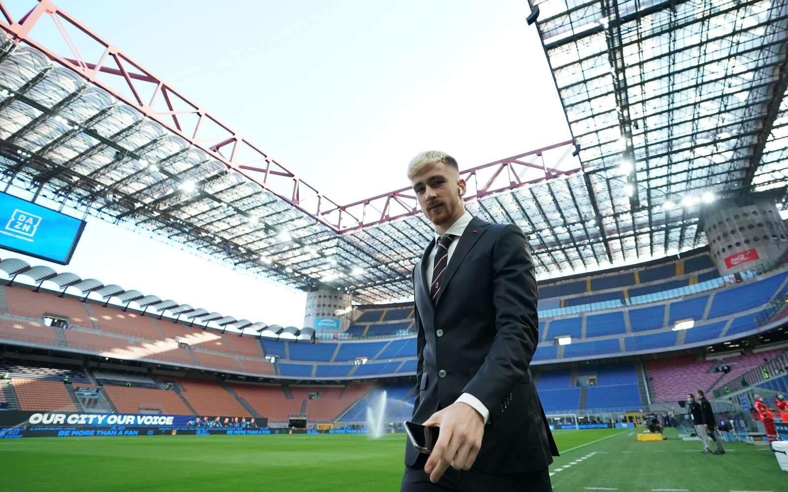 Салемакерс: «Чувствую себя в «Милане» как дома»