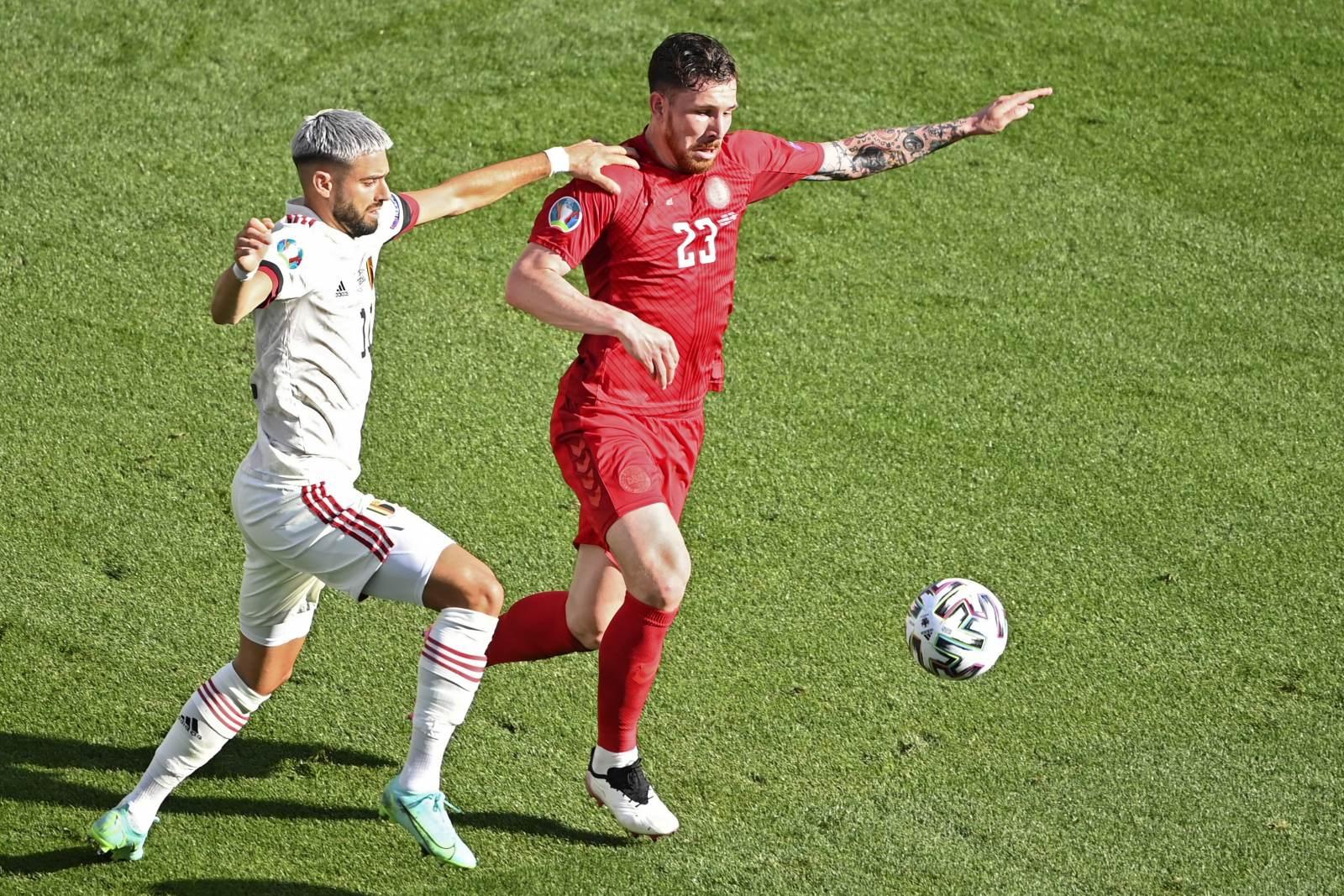 Хёйбьерг высказался о полуфинале с Англией