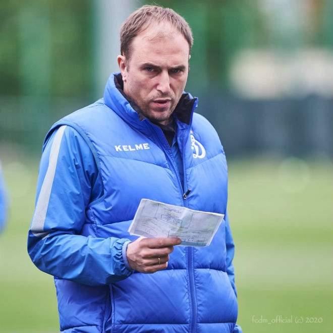 «Динамо» решило уволить Новикова