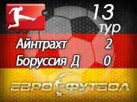 """""""Боруссия"""" снова проиграла и опустилась на последнее место в турнирной таблице"""