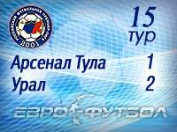 """""""Урал"""" увёз три очка из Тулы"""