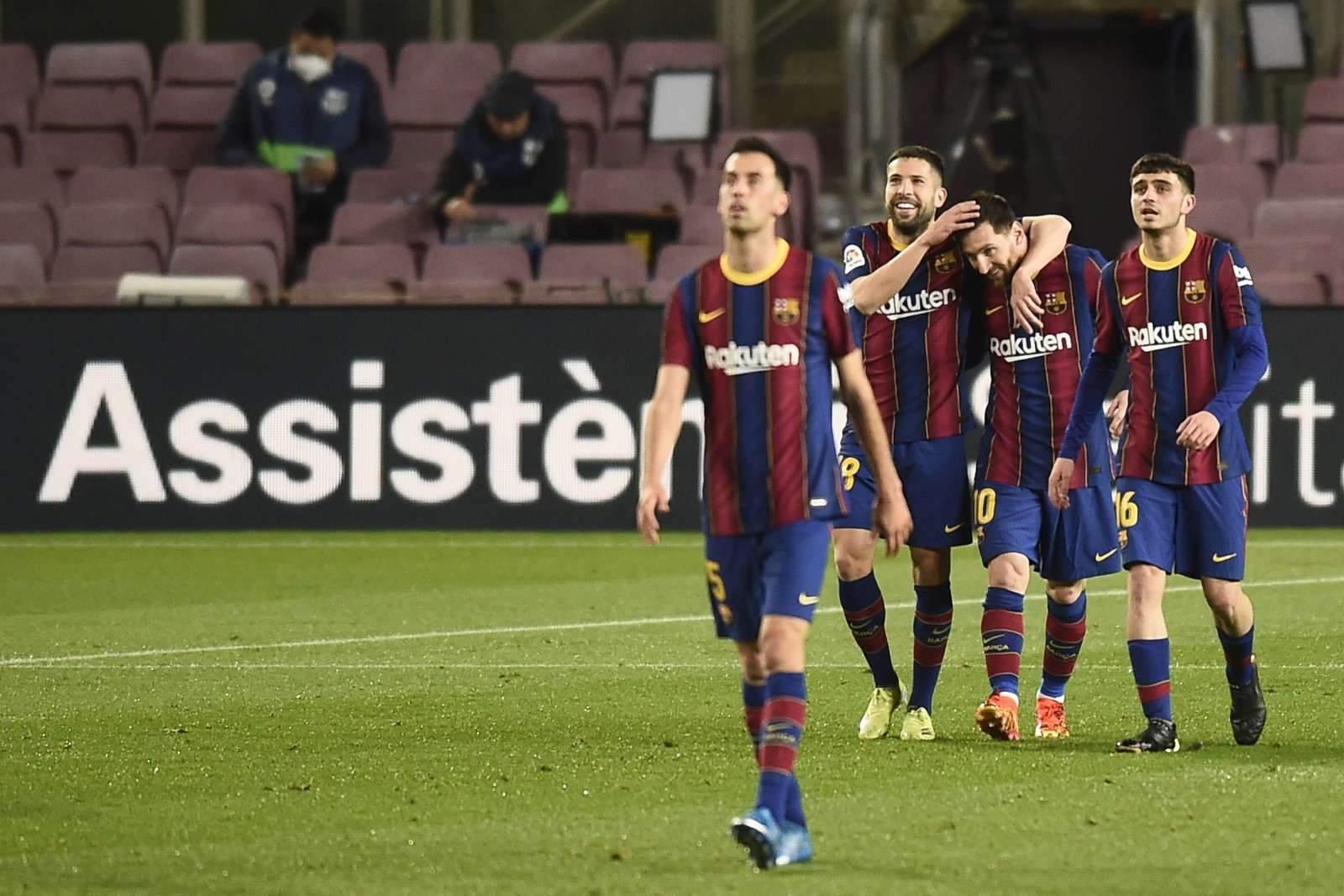 Как «Барселона» брала первый трофей за два года - видео