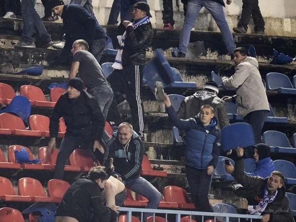 """Болельщики """"Лацио"""" атаковали полицию, фанаты """"Ромы"""" замечены в антисемитизме"""