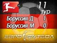 """""""Боруссия"""" благодаря курьёзному автоголу прервала негативную серию"""