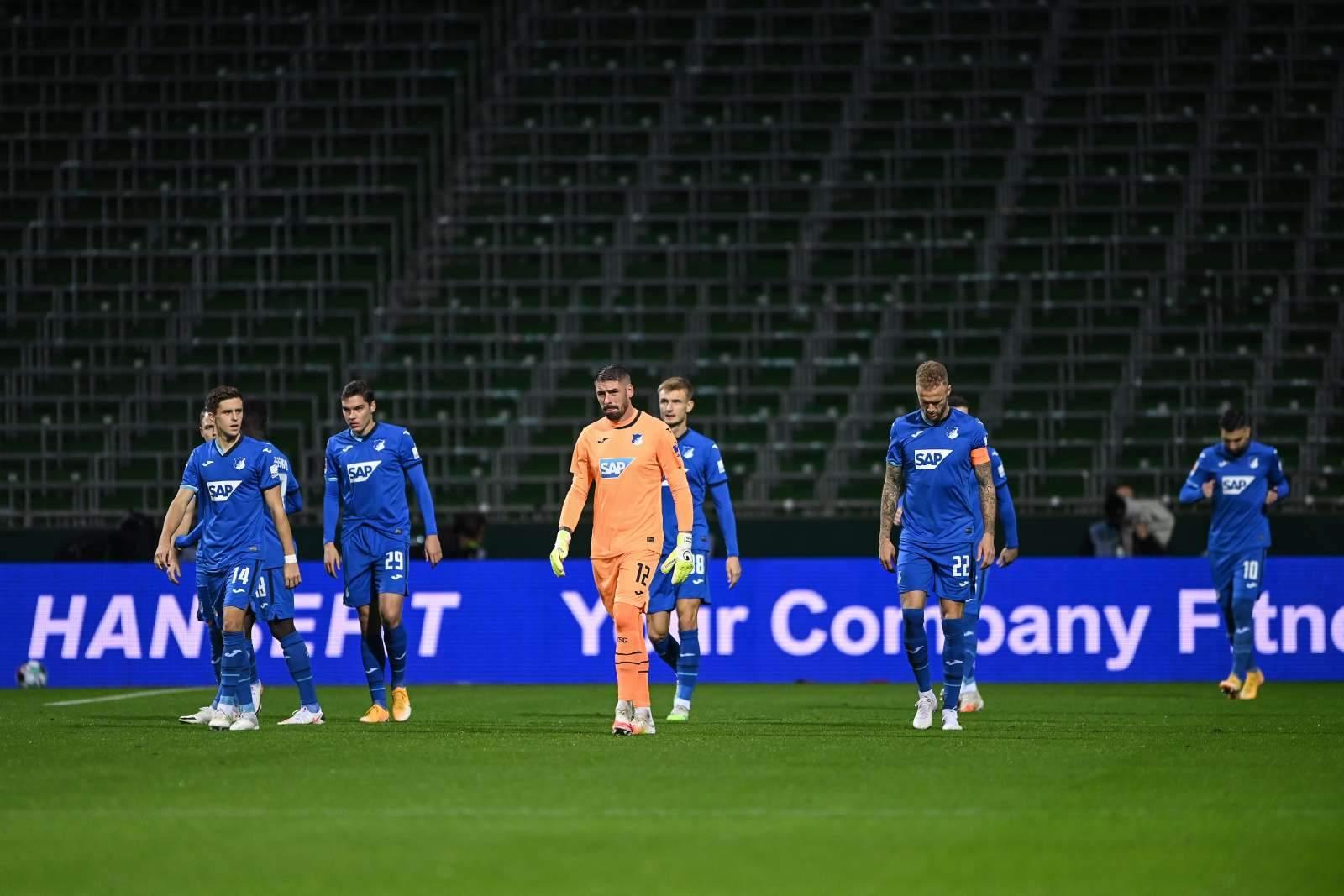 «Унион» отстоял ничью в матче с «Хоффенхаймом»