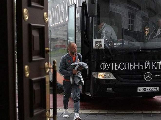 Парфёнов попрощался с «Уралом»