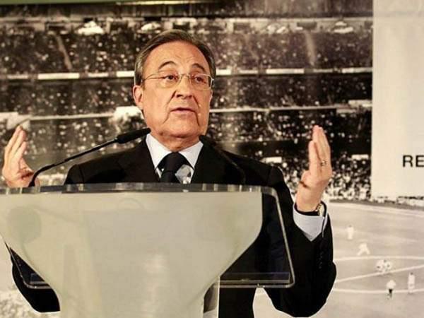 Президент «Реала»: «Куртуа - лучший голкипер мира, он показал это в игре с «Атлетико»