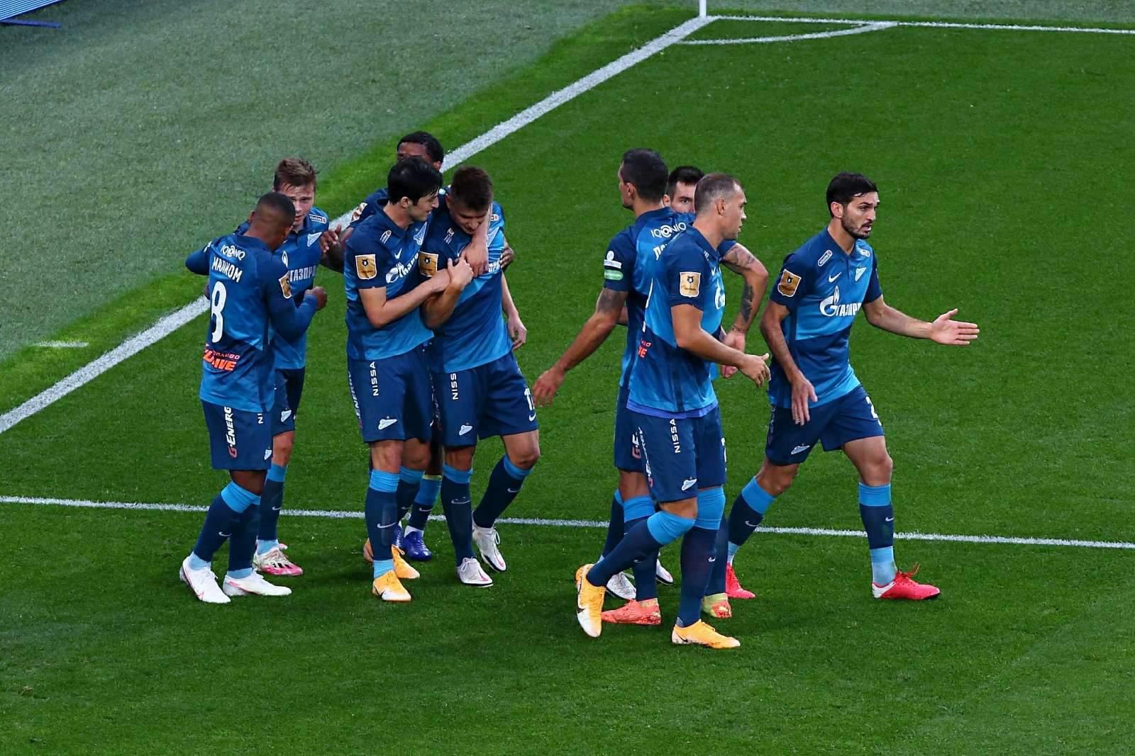 «Зенит» занимает 4 место по стоимости состава среди клубов не из топ-5 лиг Европы