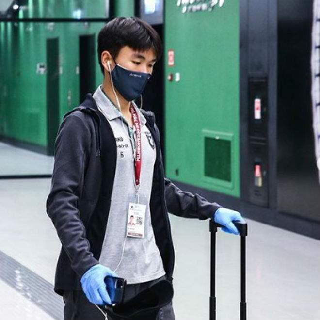Полузащитник «Рубина» Хван Ин Бом заболел коронавирусом