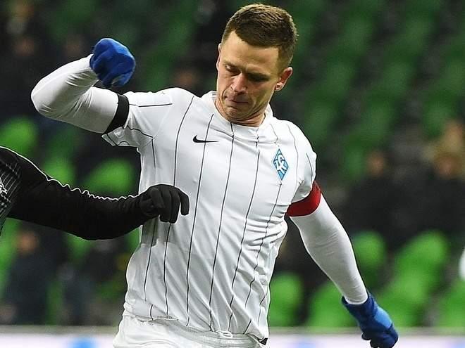 «Краснодар» расторг контракт с Тарановым
