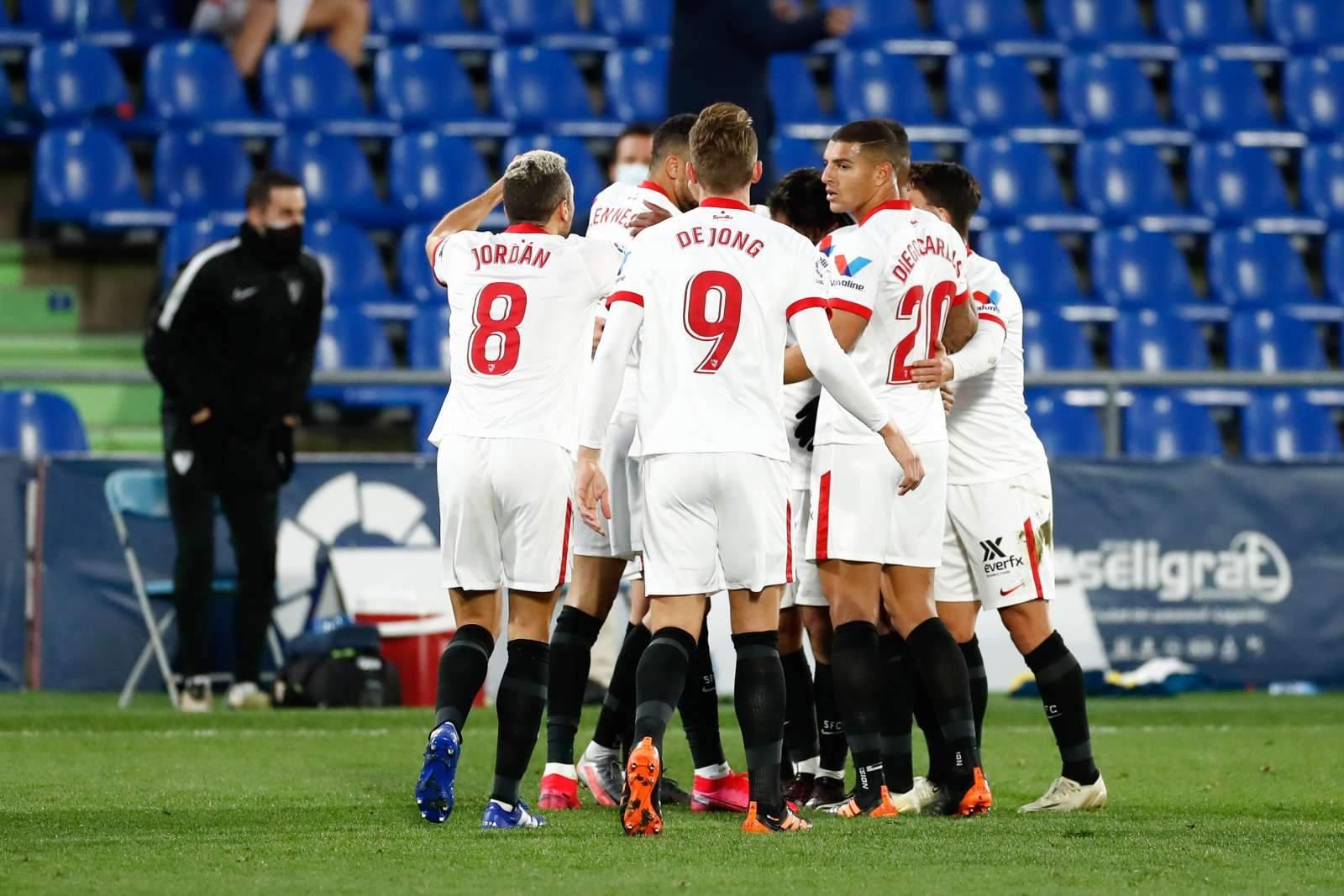 «Севилья» продолжает борьбу за медали после победы над «Реал Сосьедадом»