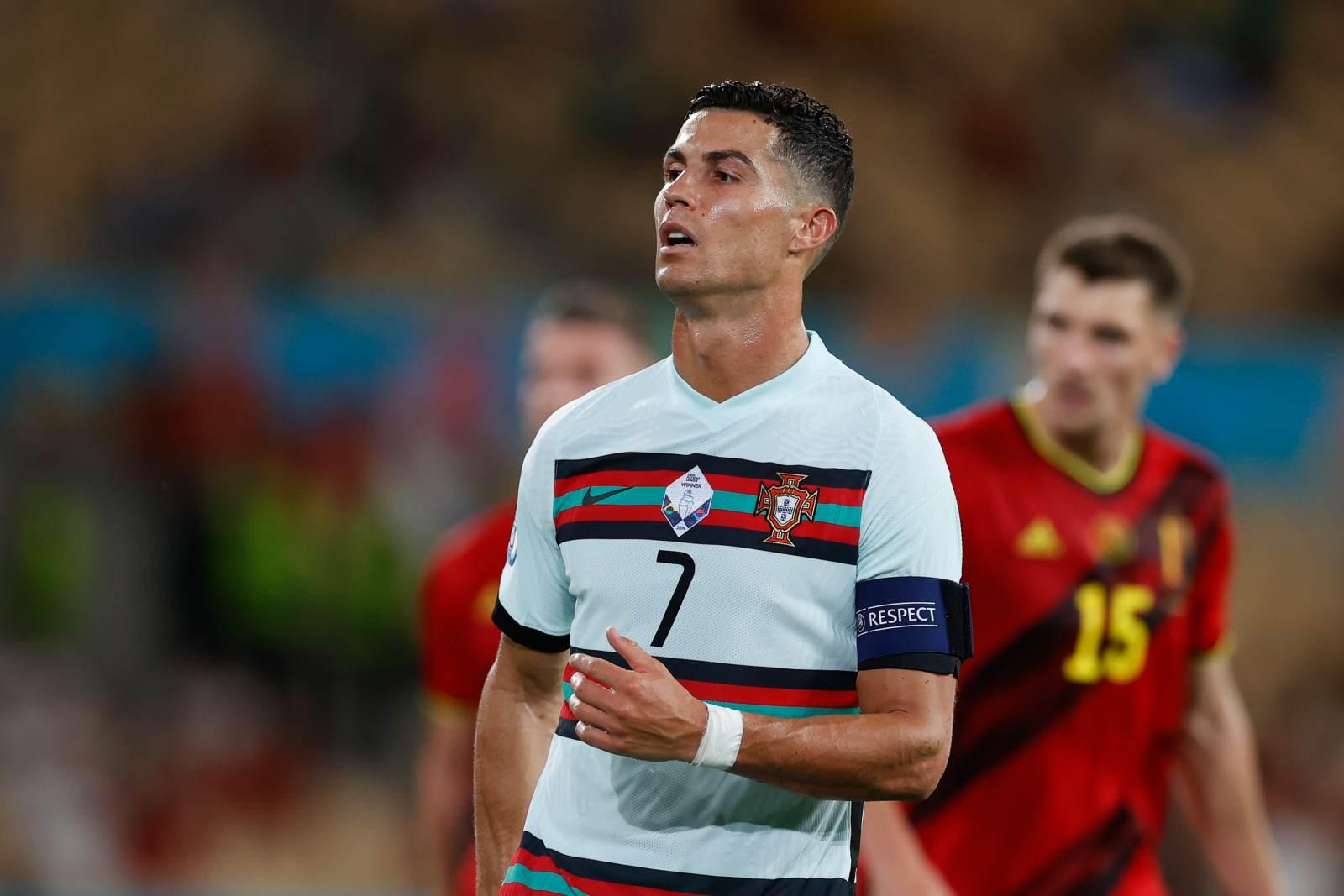 Роналду - лучший бомбардир Евро-2020