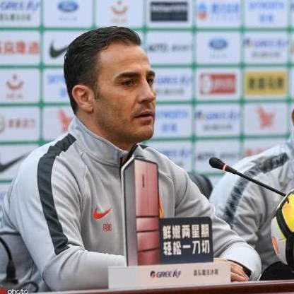 Каннаваро подал в отставку с поста наставника сборной Китая