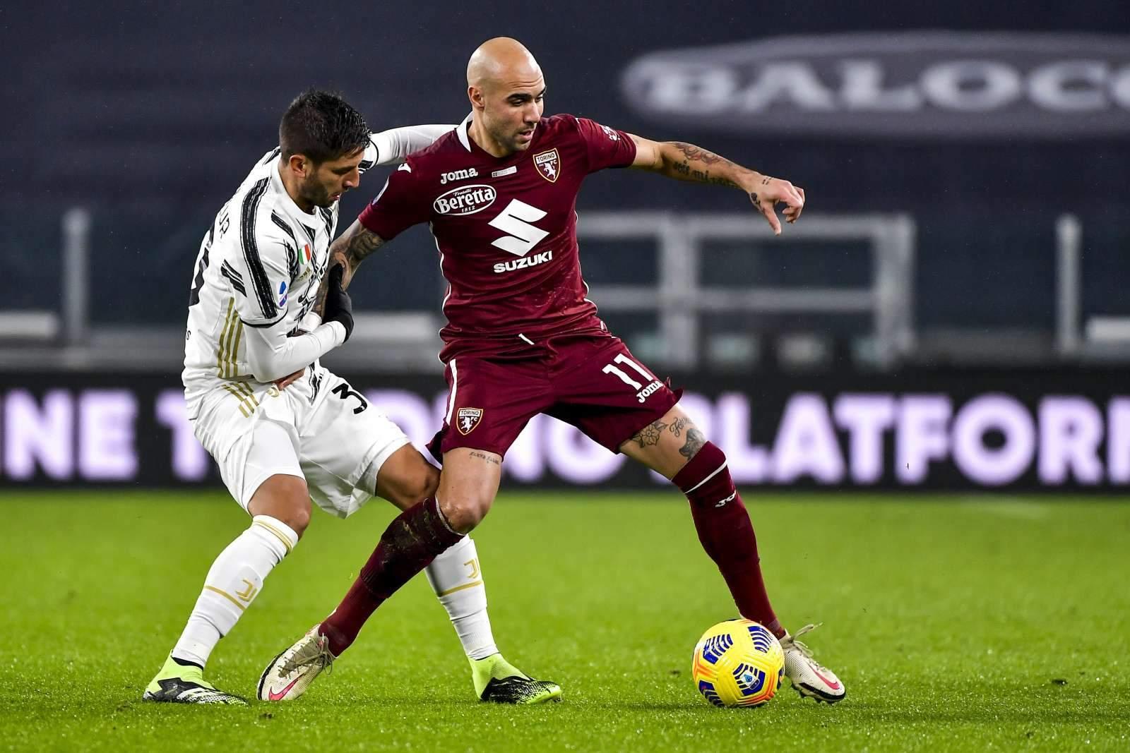 Дубль Дзадзы позволил «Торино» вырвать ничью в игре с «Беневенто»
