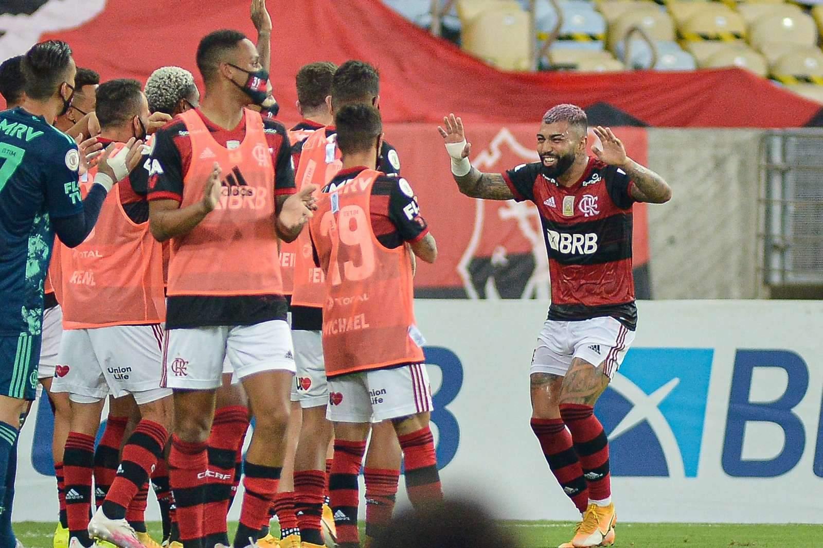 «Фламенго» сделал шаг к финалу Кубка Либертадорес, победив эквадорскую «Барселону»